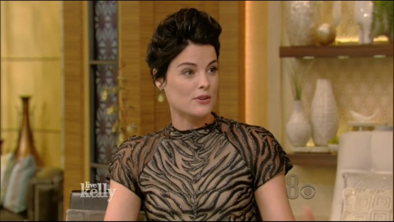 Jaimie Alexander Sexy Live With Kelly 9 14 2016
