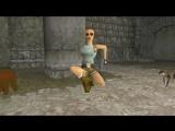 Альфа версия первой части Tomb Raider 1996 года.