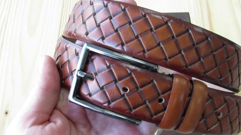 Шкіряний ремінь 120 см довжина та ширина 35 мм Італія Lucky Jeans Дрогобич