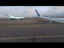 Airbus A-320. Takeoff, TSE, 06.04.2016