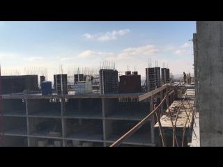 Строительная симфония на площадке ЖК Ривер-Хаус