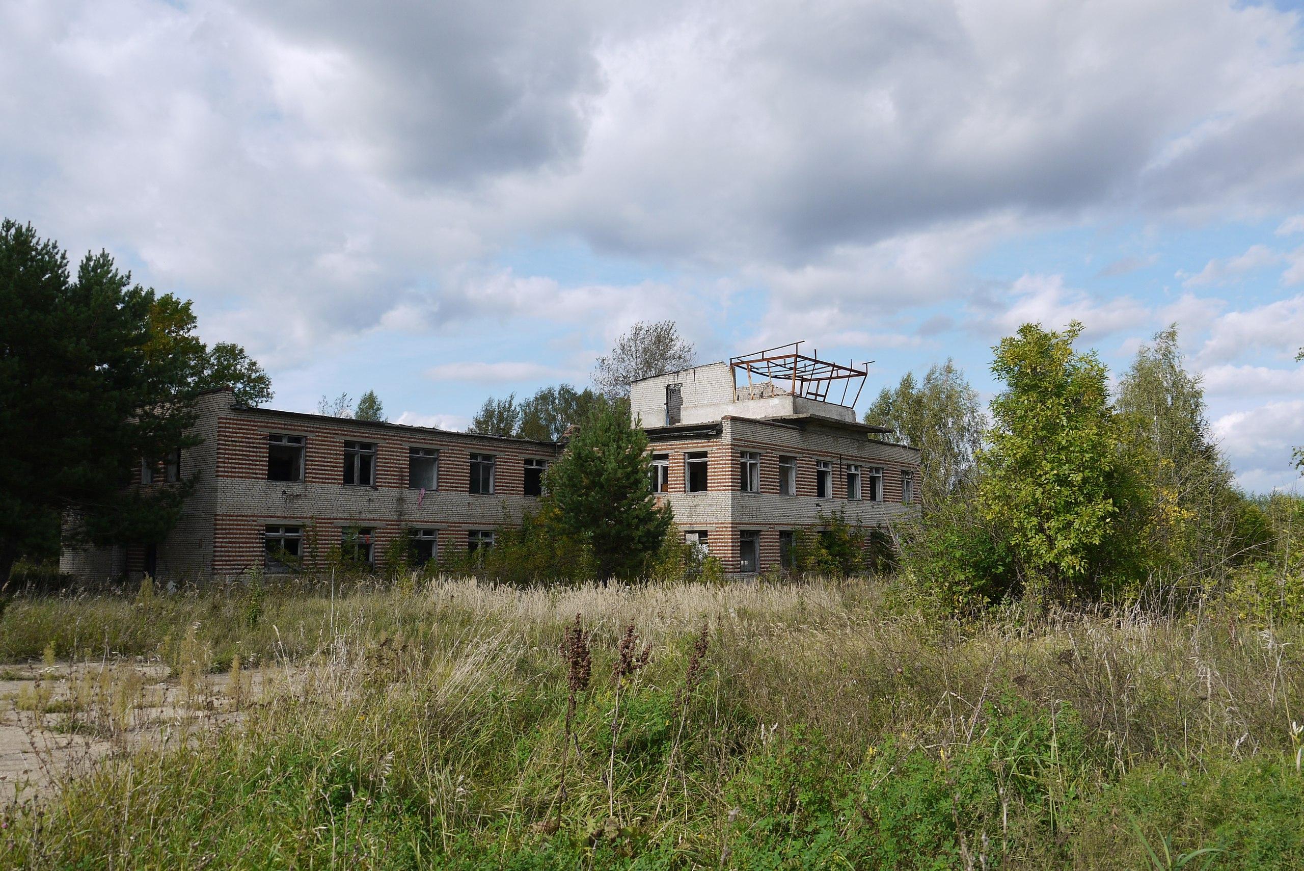 Аэродром где-то в Калужской области