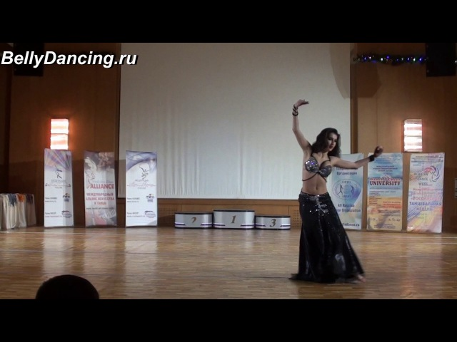 Сабина Гаджибабаева. Open Moscow Bellydance 2017