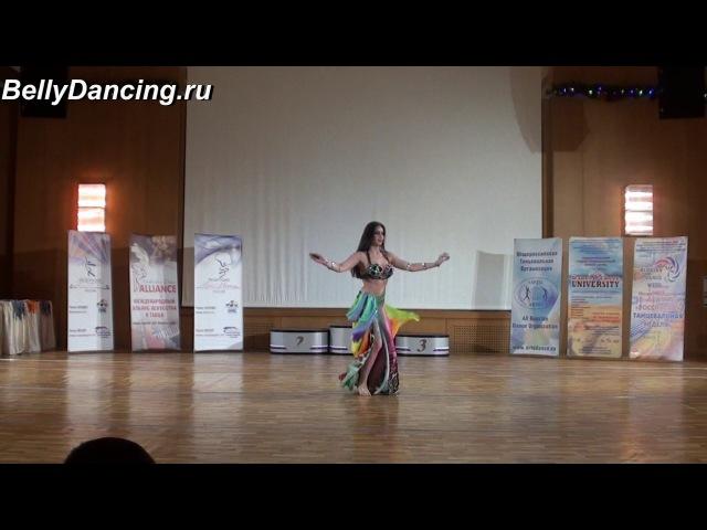 Марина Мискарян. Open Moscow Bellydance 2017