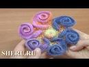 Урок 144 вязания крючком яркого цветка для начинающих