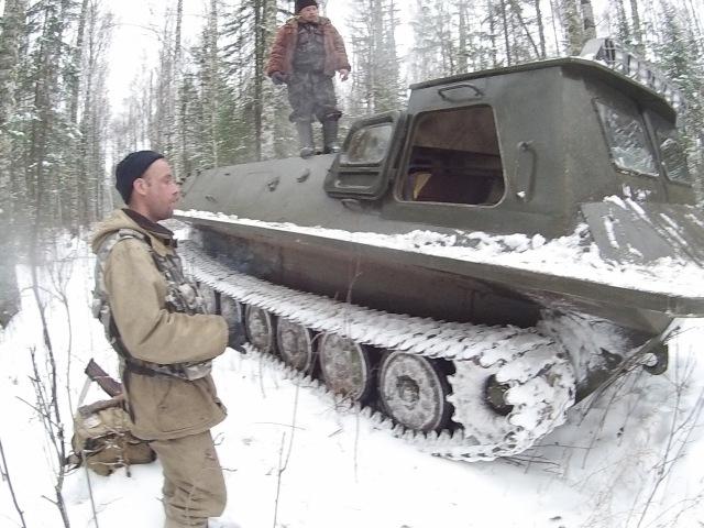 Сезон 2015 часть 10 11 Томская обл Чисто танки МТЛБ