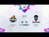 Fantastic Five vs Ad Finem game 1  (Финальный тур квалификаций Dota 2 WCA season 2 2016)