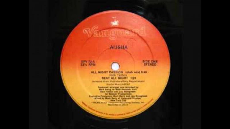 All Night Passion - Alisha 1984