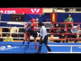 Drozdova Valeria(Rus)-Funda Alkays(Tur) 1/8 female senior A 51kg