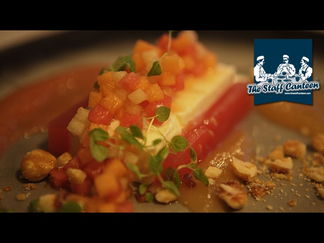 Heritage tomato salad, roast squab and nougat glacé recipes from Le Gavroche London