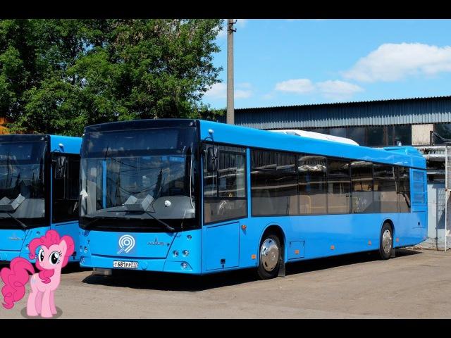 Поездка на автобусе МАЗ-203.069 Т 681 РР 777 Маршрут № 201 Москва
