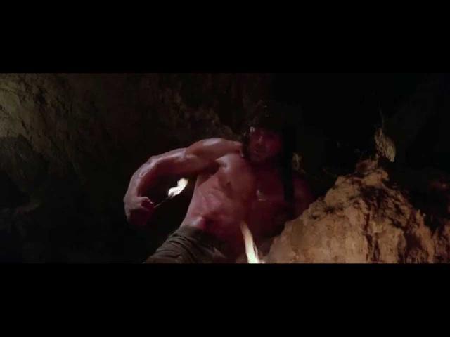 Rambo III - That Scene When He Lights Himself On Fire