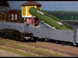 Боевой железнодорожный ракетный комплекс Баргузин!