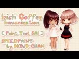 Irish Coffee Humanization Paint Tool SAI Speedpaint by Okojo-chan