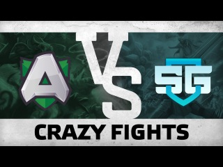 WATCH FIRST: CRAZY FIGHTS - Alliance vs SG e-Sports @ WESG Grand Final