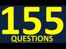 155 ВОПРОСОВ. Английский для начинающих. Уроки английского языка. Разговорный английский язык