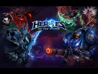 Heroes of the Storm | Валла и Фалстад - любимчики Некроса.
