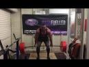 Оделл Мануэл - тяга 300 кг х 8 повторов