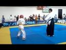 4-й Кубок Абхазии по косики каратэ. Август 2016 года. Кузин - Адлейба 3 бой