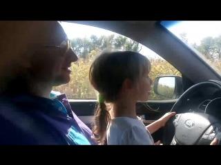 Осторожно Блондинка за рулём