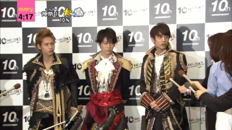 02.05.2016 ☆EVERY- Tokyo Dome - KAT-TUN 10TH ANNIVERSARY LIVE TOUR 10Ks