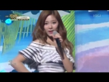 [Special Stage] 160624 Tzuyu & Jihyo (TWICE), Elki (CLC), Sin B (Gfriend) - Loving U @ Music Bank