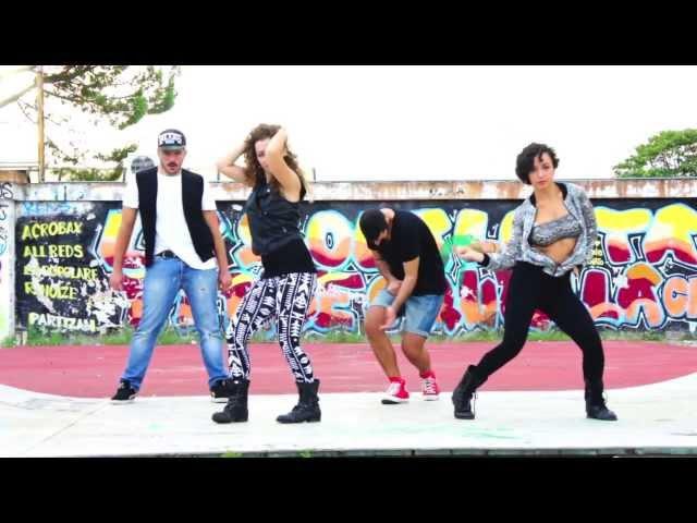 Konshens feat. J Capri Pull up to mi bumper - Bashy Gyalz, Frass, Tods Dancehall Choreo