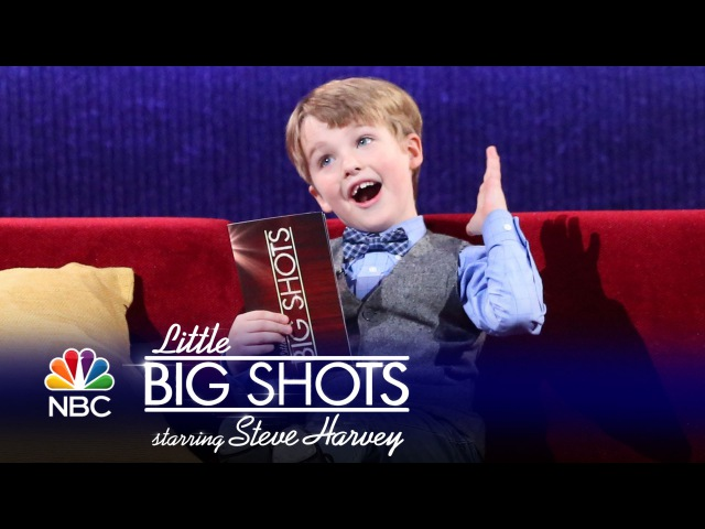 Little Big Shots - Seven-Year-Old Theater Critic (Episode Highlight)