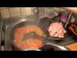 Индийское карри из белой рыбы с кокосовым молоком и рисом
