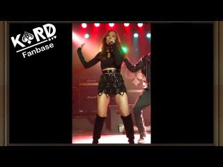 [121216][Fancam][Debut Party] KARD (featuring YoungJi) - Oh NaNa live  - Somin Focus