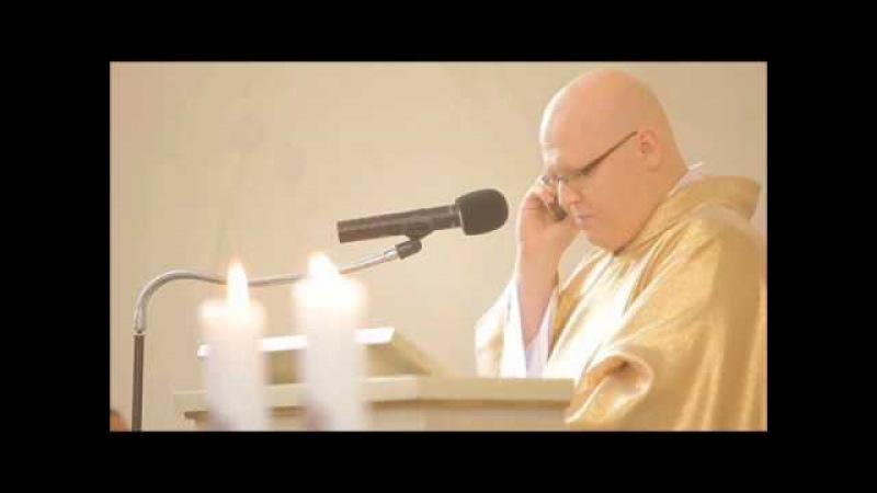 """""""Telefon z Częstochowy"""" Ks Roman Siatka MSF kazanie ślubne Kacper i Marta 26 08 2012"""