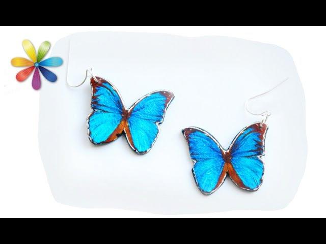 Сережки-бабочки: трендовые, объемные и легкие! – Все буде добре. Выпуск 835 от 29.06.16