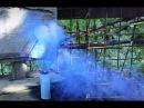 Как сделать синюю дымовую шашку своими руками/How to make a DIY smoke flare