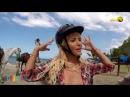 Jenny Scordamaglia - @ Chukka Jamaica Horseback riding on the beach - Miami TV