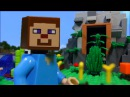 LEGO MINECRAFT Стив и пещера секретов