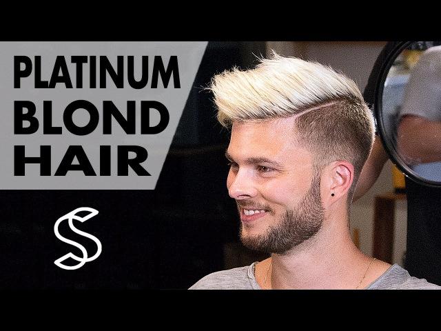 Aaron Ramsey to Justin Bieber ★ Platinum Blond Style ★ Men's Hair Inspiration