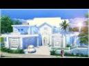 The Sims 4 Speed Build - Dillan's Modern Beach Home