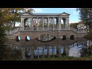 The Catherine Park, Tsarskoye selo, Autumn in Russia. Relaxation film 4K UHD