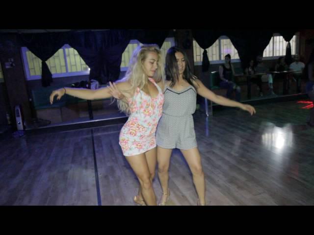 Liron and Hila sensual bachata dance El Verdadero Amor Perdona