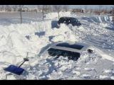 Пурга 2016-2017 Много снега Сильный снегопад на Камчатке в Петропавловск-Камчатском