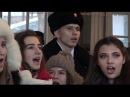 Донецк под барабаны НЕСЛОМЛЕННЫЙ ПОЁТ - песенный флешмоб   Donetsk under UNBROKEN reels SINGING!