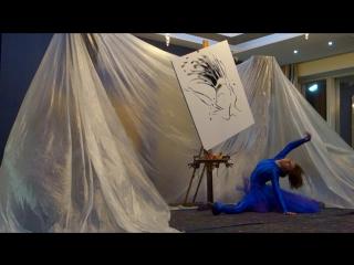 Шоу Танцующий художник. Fashion Live-Art от Жени Косыгиной. ЦМТ Москва, 05 октября 2016.