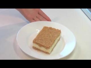 Творожный торт без выпечки видео рецепт