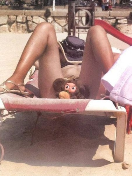 Лето в голову: 20 фото, кошмарных пляжных нарядов