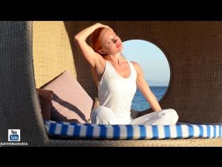 Упражнения для шеи - Йога для начинающих -