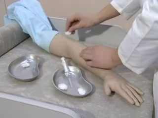 Подкожная инъекция - техника выполнения