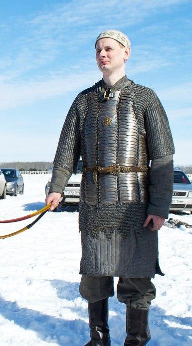 Реконструкция конного казахского воина 17-19 века