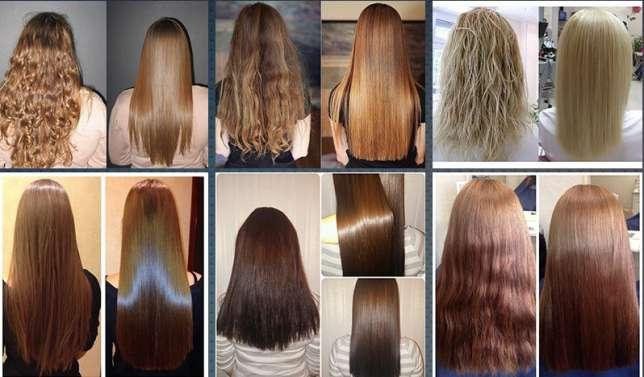 Как выпрямляет Расческа FAST HAIR