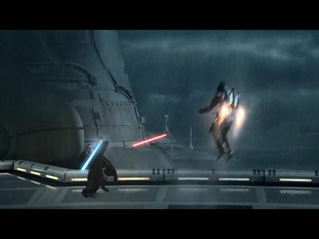 Obi-Wan vs Jango Fett - Attack of the Clones [1080p HD]