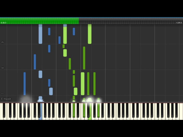 Berserk 2016 OP Piano Tutorial ベルセルク 2016 OP Synthesia Inferno by 9mm Parabellum Bullet